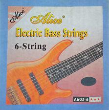 1 Satz Alice Bass Saiten für 6 Saiter Bass