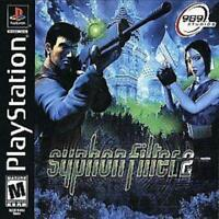Syphon Filter 2 Playstation 1 Game PS1 Used