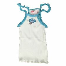 Diesel Girls Strappy Vest Top Taniz Pale Green Age 6-15 Years NEW