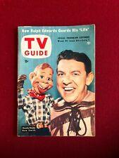 "1954, Howdy Doody, ""TV Guide"" (No Label)  - Scarce / Vintage"