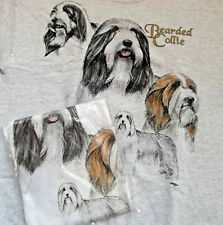 Bearded Collie Sweatshirt & T-shirt Set Med ( 38 ~ 40 )