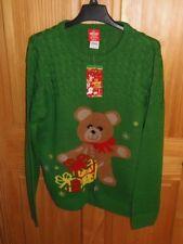 """""""Ugly"""" Christmas Sweater - Unisex - Size Medium (Xmas-2)"""