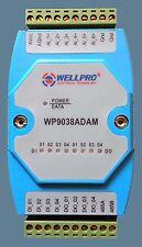The 0-20MA/4-20MA analog input module 6AI/4DI/4DO RS485 MODBUS