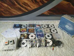 Dreamcast consola,videojuegos y más cosas,todo funciona.