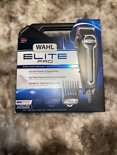 Wahl Clipper Elite Pro High Performance Haircut Kit 21 pcs, Model 79602-IN HAND!