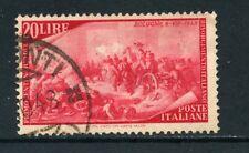 1948 - ITALIA REPUBBLICA - 20 LIRE CENTENARIO RISORGIMENTO - USATO - LOTTO/25238