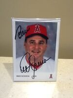 Los Angeles Angels Mike Scioscia Bust and Autographed Picture