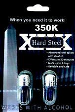 HARD STEEL 350K 10 CAPSULES STAMINA SIZE PERFORMANCE MALE ENHANCEMENT
