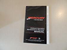 2011 Mercury 8 / 9.9 hp PS 2Zyl-4Takt owner s manual Betriebs anleitung Handbuch