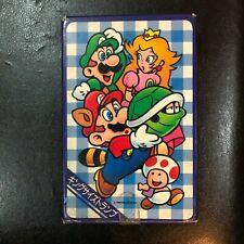 NINTENDO Super Mario Bros 3 King Size Trump Deck Card Set Complete JAPAN RARE