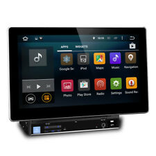 "10.1"" Android Double Din Car DVD Player Stereo With GPS USB SD Aux Screen Mirror"