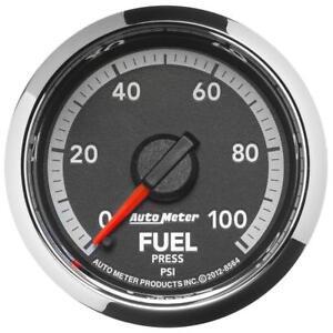 """Auto Meter Fuel Pressure Gauge 8564; Dodge Factory Match 0-100 psi 2-1/16"""""""