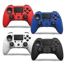Controlador Inalámbrico Bluetooth Gamepad Joystick Dualshock PS4 PC Juego Rojo Azul UK