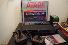 Atari Vader Black Console CX2600A *Tested / Box / Games / Controllers