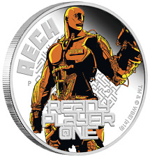 2018 Ready Player One - Aech 1 oz Silver Proof $1 Coin spielberg new movie
