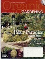 Organic Gardening, December 2004 through November 2005 - LOT OF SIX MAGAZINES