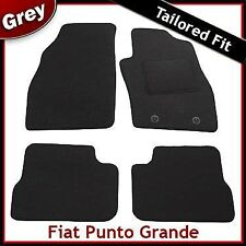 Fiat Punto Grande (199) 2005-2011 Fully Tailored Fitted Carpet Car Mats GREY