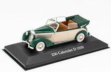 Mercedes-Benz 230 Cabriolet D (1939) 1:43 IXO Model Car Diecast Atlas M10