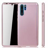Huawei P30 Pro Étui Coque Étui pour Portable Housse Sac Étui Film Blindé Rose