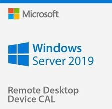 Windows Server 2019 Standard + Remote Desktop Services 50 RDS User/Device CALs