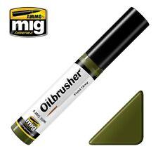 AMMO by Mig Jimenez Oilbrusher - Field Grey (Oil paint w/fine brush applicator)