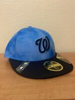 New Era 59Fifty Fathers Day Collection Washington Nationals fitted Cap Sz 7 1/8