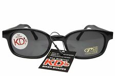 KD's Sunglasses Original Biker Shades Motorcycle Black Smoke Lens 2010