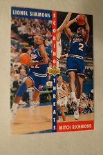 NBA CARD - Upper Deck - Scoring Threats Series - Simmons - Richmond