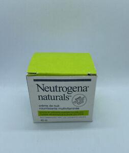 Neutrogena Naturals Multi Vitamin Nourishing Night Cream NIB
