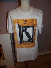 BNWT Da Uomo di marca Adidas Originals Retrò anni'80 t shirt UK GRANDE RRP £ 27.99