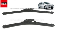Vauxhall Astra MK5 (H) 2004-ON Front Windscreen Wiper Blades 22'' & 18'' Aero