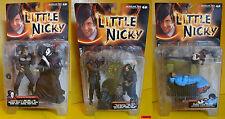"Little Nicky-serie completa 3 juegos de doble - 7"" (aprox.) 18cm Mc Farlane OVP Rare"