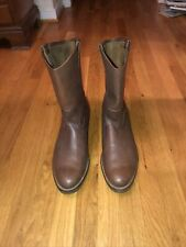 Vintage Red Wing Pecos Leather Boots ~ Size: 14  D Soft Toe