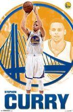 Stephen Curry - Golden State Warriors - NBA - Basketball Poster