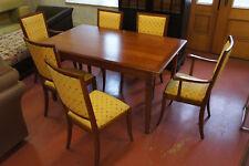 GRANGE Esstisch aus Kirschbaum, 2x ausziehbar, mit 6 Stühlen, Luxus, München