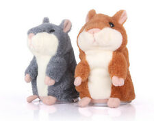 Adorable imitation PET Speak Talking record hamster souris peluche jouet ZJFR