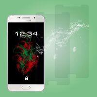 2x Glas Schutzfolie klar - Samsung Galaxy A5 (2016) Schutzglas Displayschutz 9H