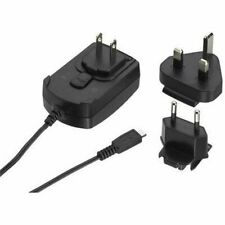 Genuine BlackBerry Micro USB Mains Travel Wall UK EU Plug Charger