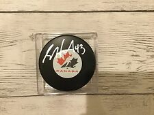Scott Hartnell Signed Team Canada Hockey Puck Autographed a