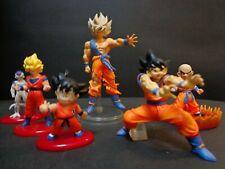 Dragon ball Z Figures Set Rare Goku Freeza Krillin