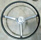 1967 Chevelle Steering Wheel Chrome Horn Ring Center Cap Original Gm