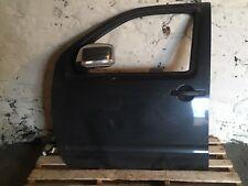 Nissan Navara D40 L/h Front Door Dark Grey Metallic