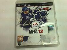 NHL 12 PS3 Playstation 3