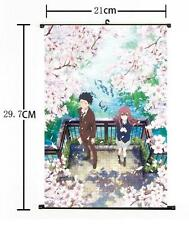 "Hot Anime A Silent Voice Koe no Katachi Home Decor Poster Wall Scroll 8""×12"" 01"