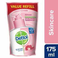 10 X Dettol Skin Care Liquid Hand Wash Refill pH Soap Kills 99.9% Germ ANTI-BACT