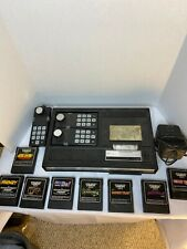 ColecoVision Console. Extra Controller. 8 Games. Cannot Test—Read Description