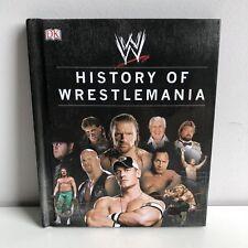 History Of Wrestle Mania Booklet English WWF Pocket Size