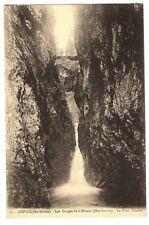 CPA 74 Haute-Savoie Servoz Gorges  la Diosaz Pont Naturel