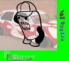 Domo nr2 Cap Casquette kun JDM Sticker Autocollant oem Power fun like Shocker