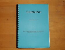 Perkins. 6.354. Diesel engine.workshop manual.dated 1970.